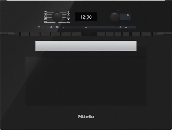 Miele H6400BM obbl PureLine Integrated Combination Microwave
