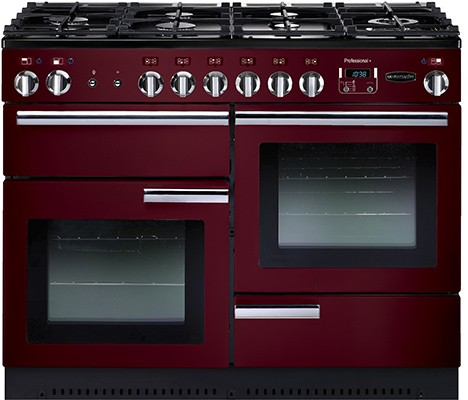 Rangemaster Professional Plus 110G Cranberry 91990 Gas Range Cooker