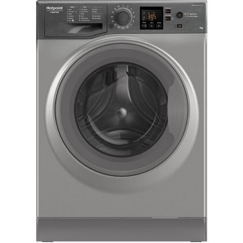 Hotpoint NSWE743UGG Agency Model Washing Machine