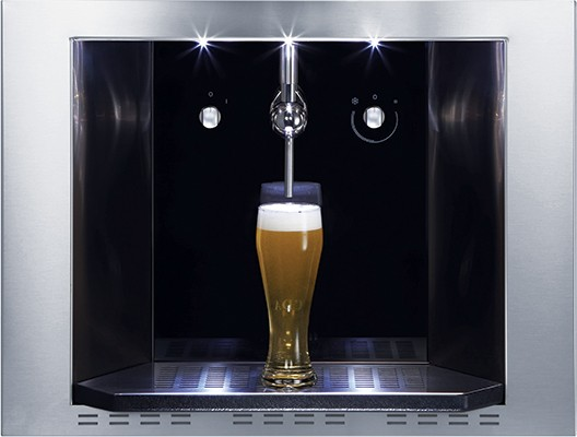 CDA BVB4SS BEER DISPENSER Wine Cabinet/Beverage Centre
