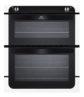 New World NW701G WHI Double Oven Gas