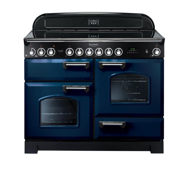 Rangemaster Classic Deluxe 110CER Blue 114130 Electric Range Cooker