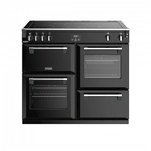 Stoves Richmond Deluxe S1000E i Black Electric Range Cooker