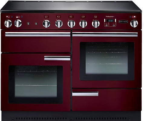 Rangemaster Professional Plus 110IND Cranberry 91790 Electric Range Cooker