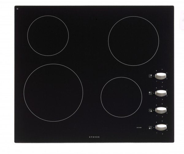 Stoves SEH600CR MK2 BLK Electric Hob