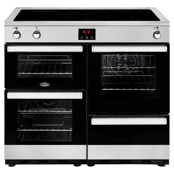 Belling Cookcentre 100Ei SS Electric Range Cooker
