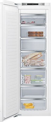 Siemens GI81NAE30G Integrated In Column Freezer