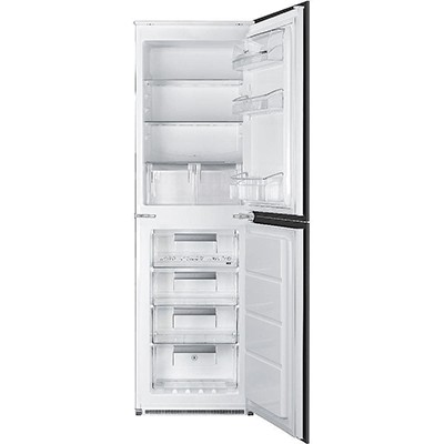 Smeg UKC7172NP Integrated Fridge Freezer