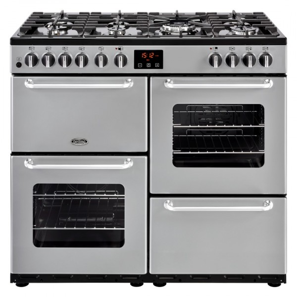 Belling Appliances Ltd Sandringham 100Dft Sil Dual Fuel Range Cooker