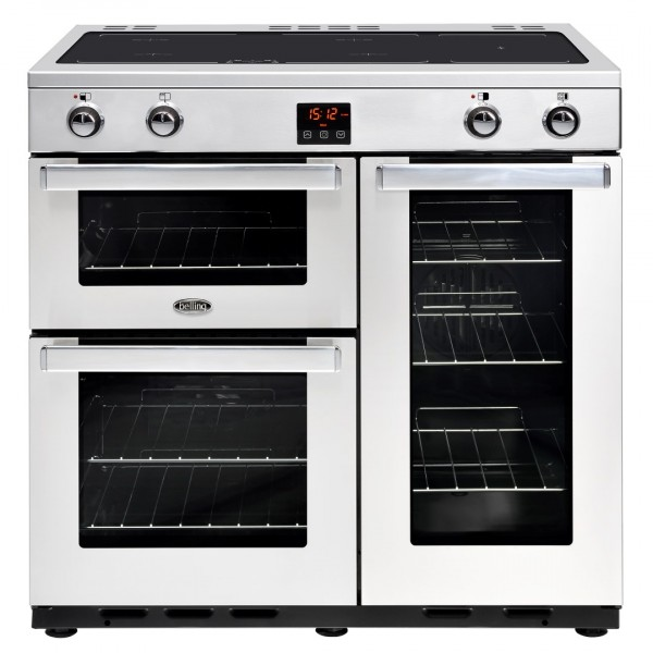 Belling Cookcentre 90Ei SS Professional Electric Range Cooker