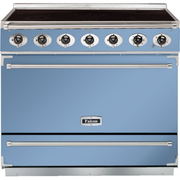 Falcon 900S IND China Blue Nickel 90050 Electric Range Cooker