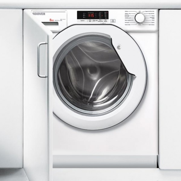 Hoover HBWM816S-80 Integrated Washing Machine