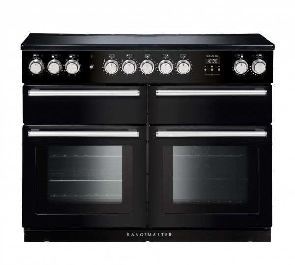 Rangemaster Nexus SE 110 IND Black 118240 Electric Range Cooker