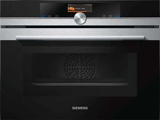 Siemens CM656GBS6B Integrated Combination Microwave