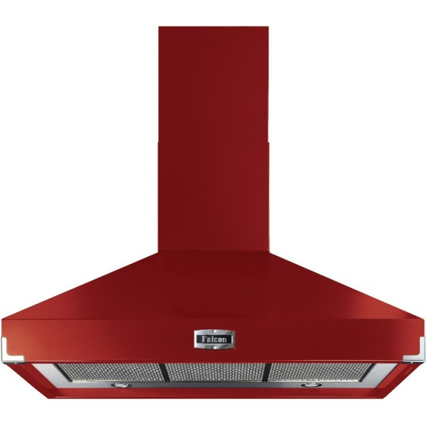 Falcon 1092 Superextract Cherry Red 90870 Cooker Hood