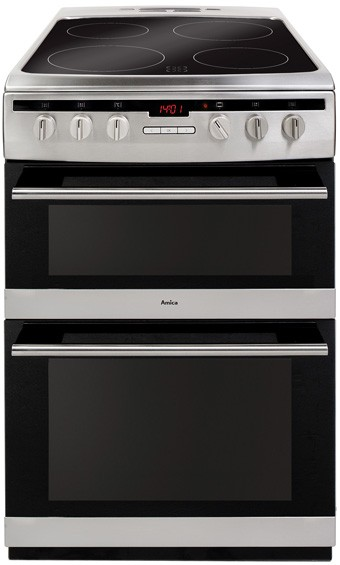 Amica 608DCE2TAXX SS Electric Cooker