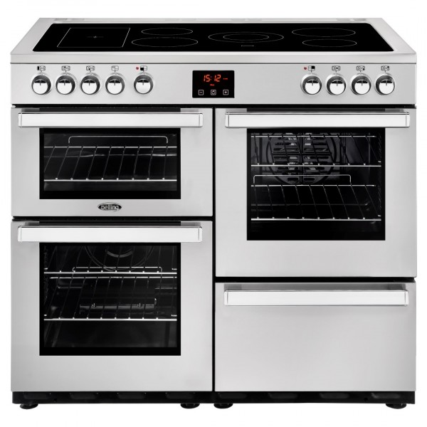 Belling Cookcentre 100E SS Professional Electric Range Cooker