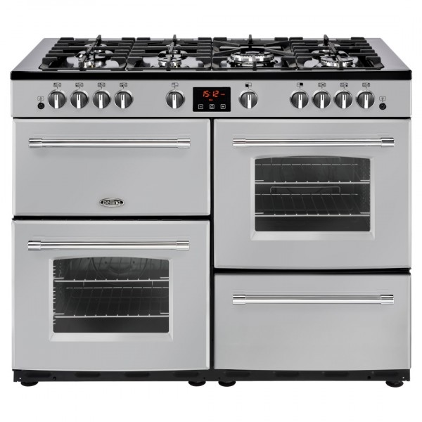 Belling Farmhouse 110G Sil Gas Range Cooker