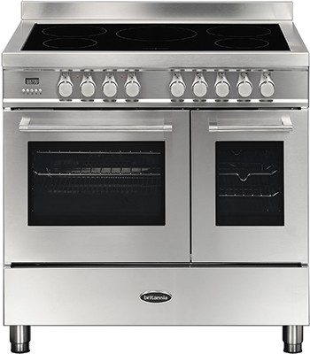 Britannia RC-9TI-QL-S Electric Range Cooker