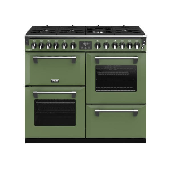 Stoves Richmond Deluxe S1000DF CB SH Dual Fuel Range Cooker