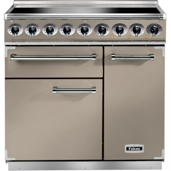 Falcon 900 DX IND Fawn Nickel 115320 Electric Range Cooker