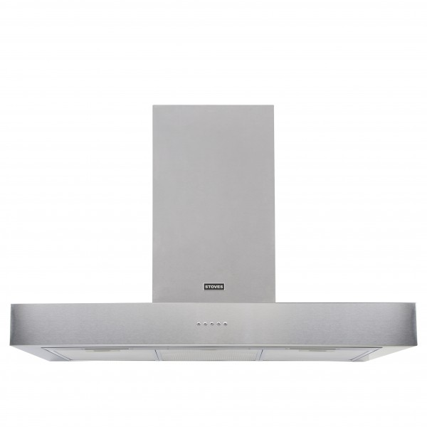 Stoves 1000 Sterling Flat MK2 SS Cooker Hood