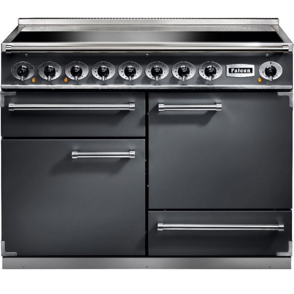 Falcon 1092 DX IND Slate Nickel 102300 Electric Range Cooker