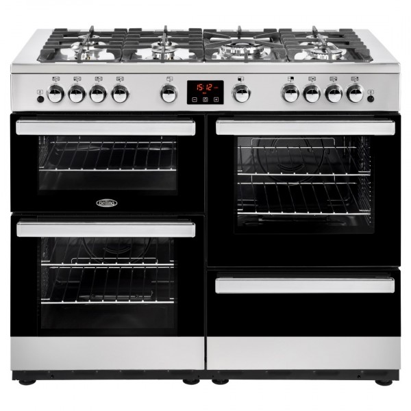 Belling Cookcentre 110G SS Gas Range Cooker