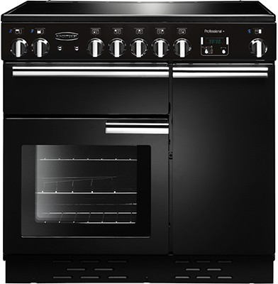 Rangemaster Professional Plus 90IND Black 91730 Electric Range Cooker