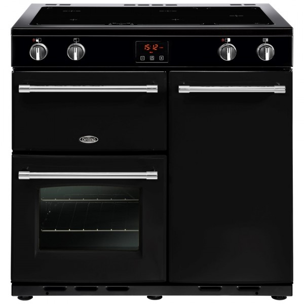 Belling Appliances Ltd Farmhouse 90Ei Blk Electric Range Cooker