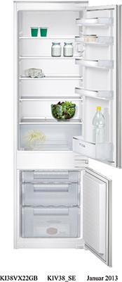 Siemens KI38VX22GB Integrated Fridge Freezer