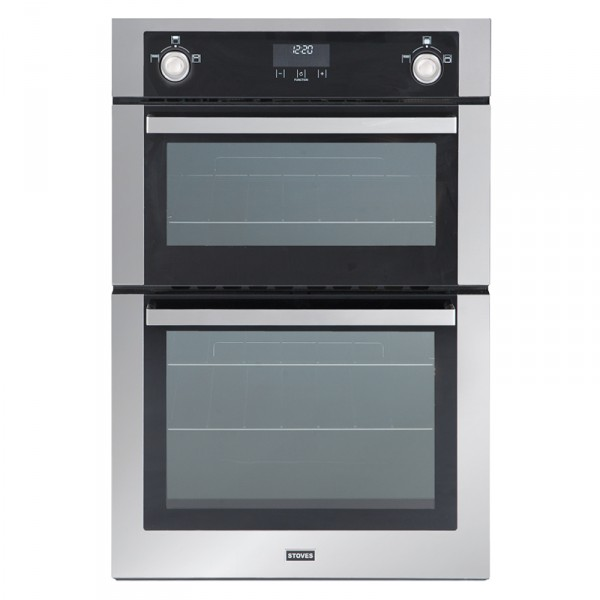 Stoves SGB900MFSe SS Double Oven Gas