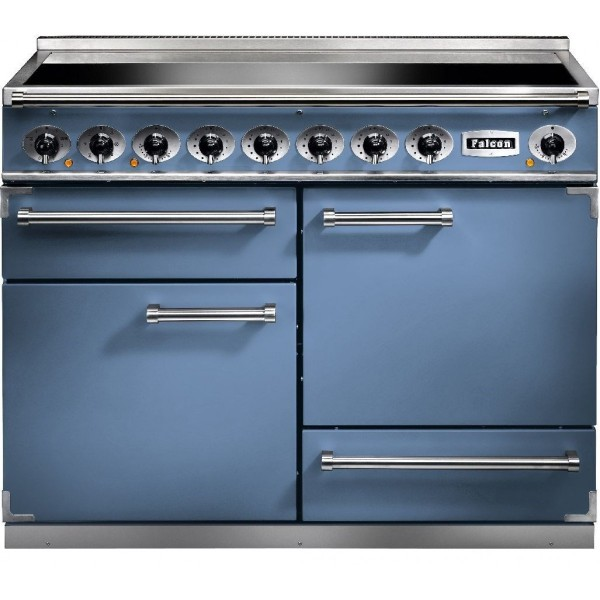 Falcon 1092 DX IND China Blue Nickel 81910 Electric Range Cooker