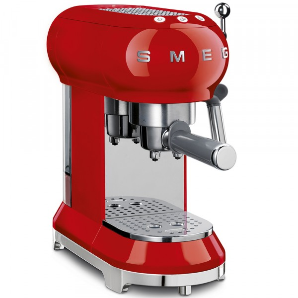 Smeg ECF01RDUK Coffee Machine