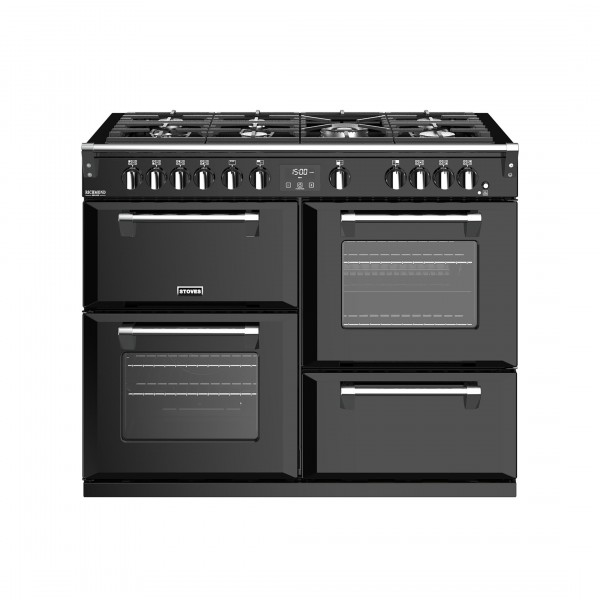 Stoves Richmond Deluxe S1100G Black Gas Range Cooker