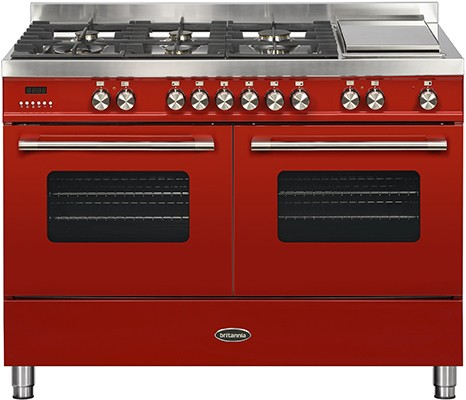 Britannia RC-12TG-DE-RED Dual Fuel Range Cooker