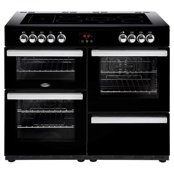 Belling Cookcentre 110E Blk Electric Range Cooker