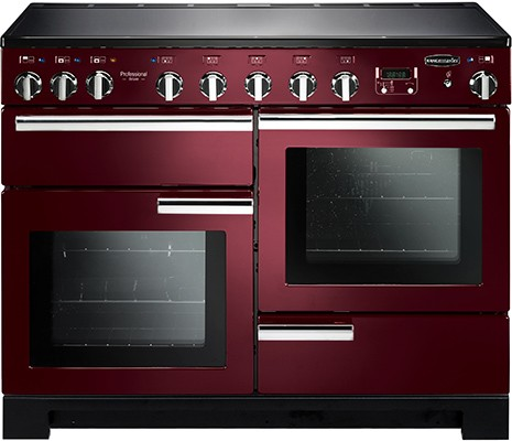 Rangemaster Professional Deluxe 110IND Cranberry 101570 Electric Range Cooker