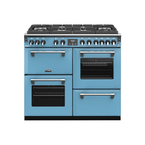 Stoves Richmond Deluxe S1000DF GTG CB Dab Dual Fuel Range Cooker