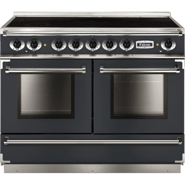 Falcon Continental 1092 IND Slate Nickel 10233 Electric Range Cooker
