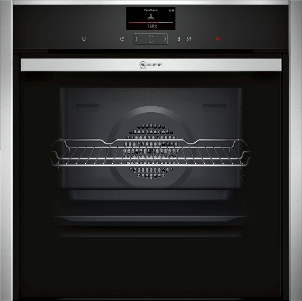 Neff B58CT68H0B Single Oven Electric