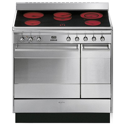 Smeg SUK92CMX9 Electric Range Cooker