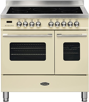 Britannia RC-9TI-DE-CR Electric Range Cooker