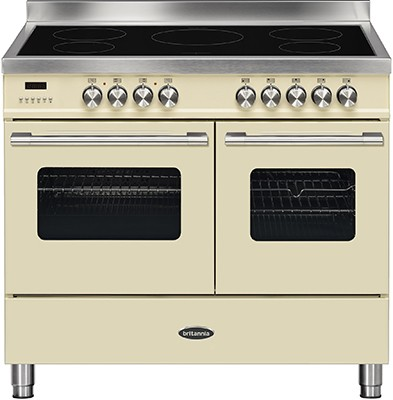 Britannia RC-10TI-DE-CR Electric Range Cooker