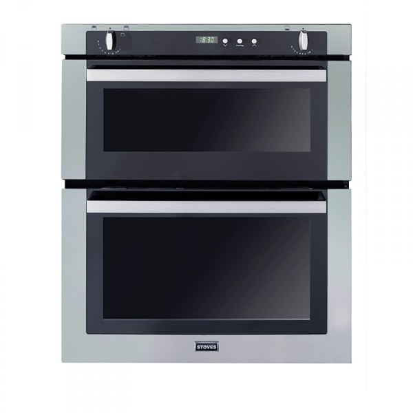 Stoves SGB700PS SS Double Oven Gas