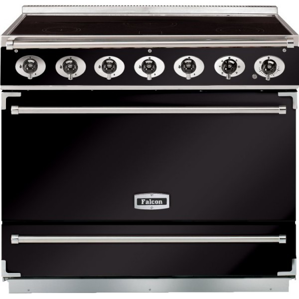 Falcon 900S IND Black Chrome 90000 Electric Range Cooker