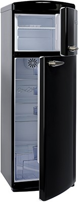 Britannia BREEZE TOP MOUNT BLK Fridge Freezer