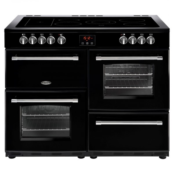Belling Farmhouse 110E Blk Electric Range Cooker