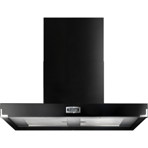 Falcon 1090 Contemporary Black Chrome 90980 Cooker Hood