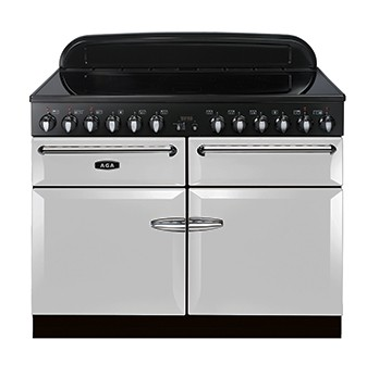AGA Masterchef 110 IND Pearl Ashes Electric Range Cooker